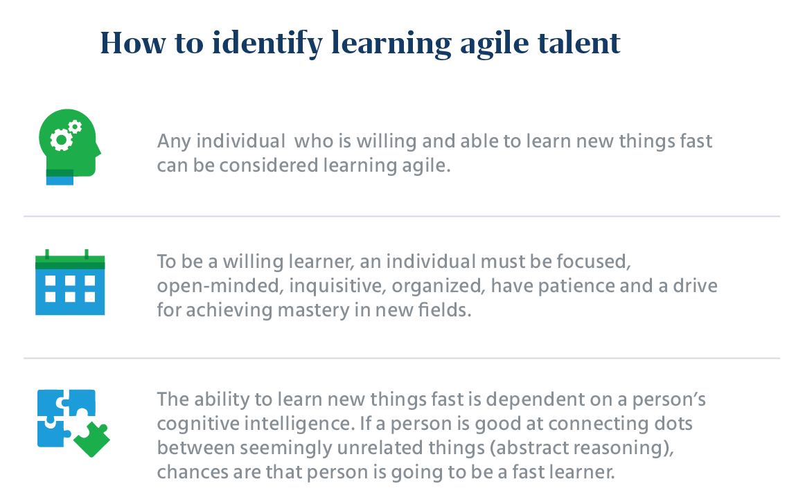 How to identify learning agile talent?