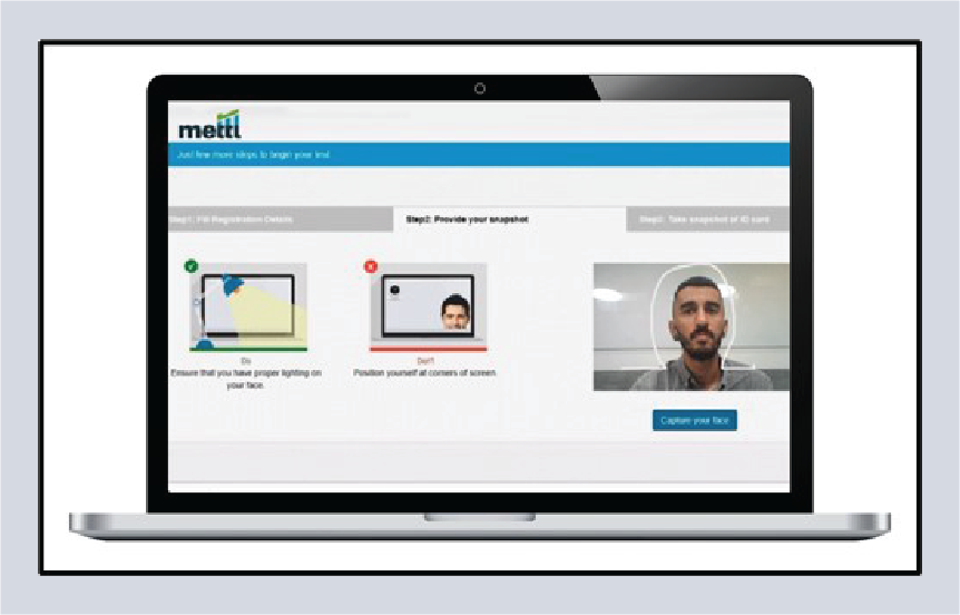 Mercer | Mettl's 3-point candidate authentication system