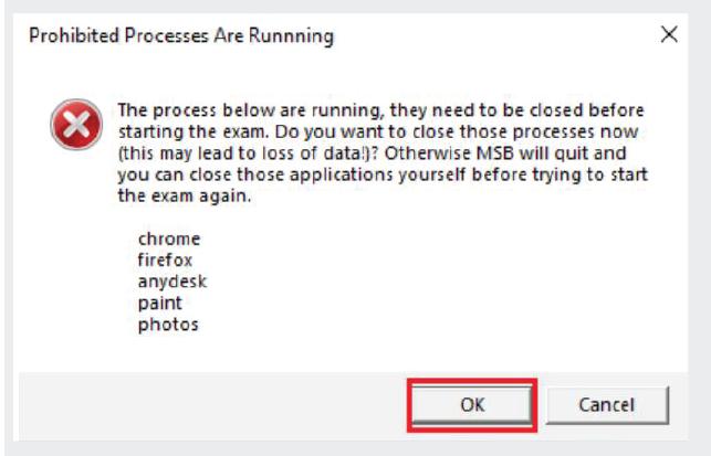 configure the Safe Exam Browser