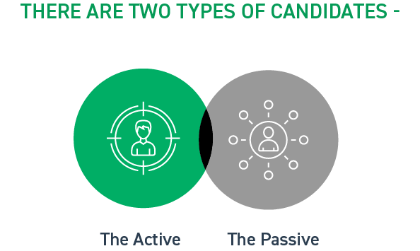 challenges_faced_by_tech_recruiters_in_startups_and_big_giants_Two_types_of_candidates_the_active_the_passive