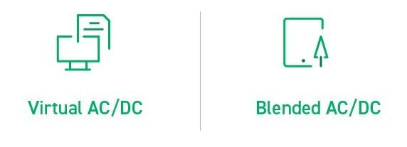 Virtual AC/DC vs Blended AC/DC