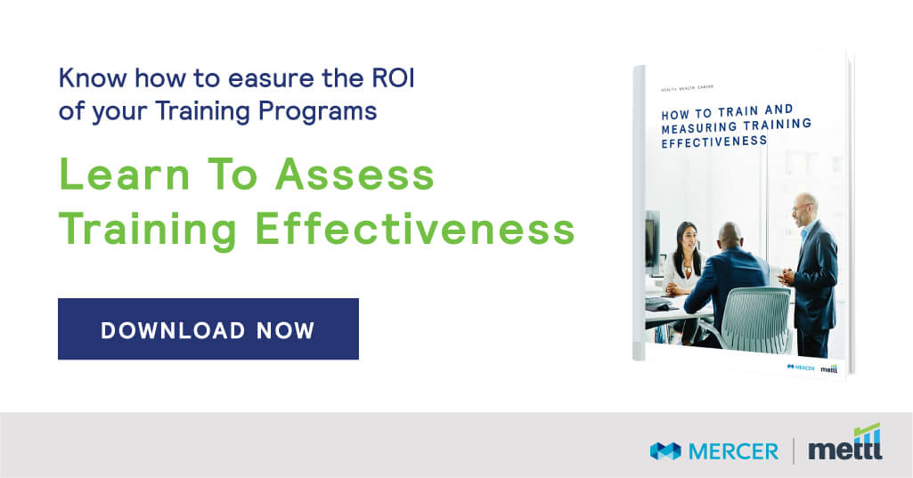 Learn to assess training effectiveness