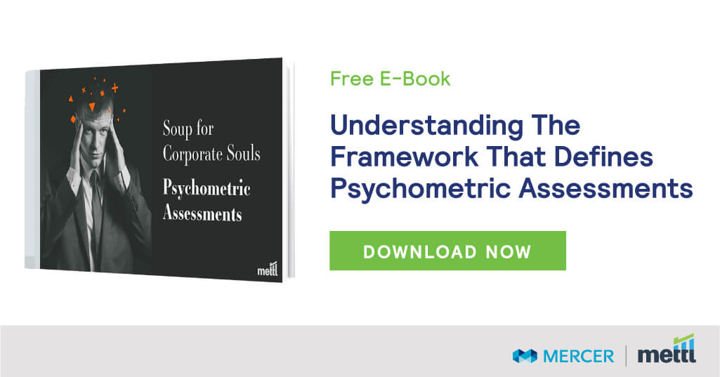 Understanding the framework that defines psychometric assessments