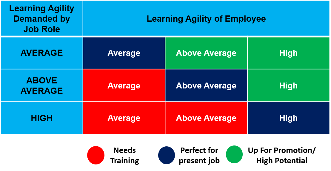 aligning employee learning agility with job role-1