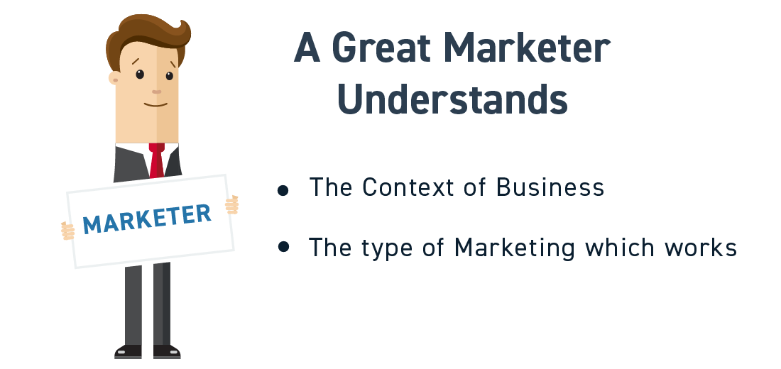 what makes a great marketer? - Hire core team in a startup
