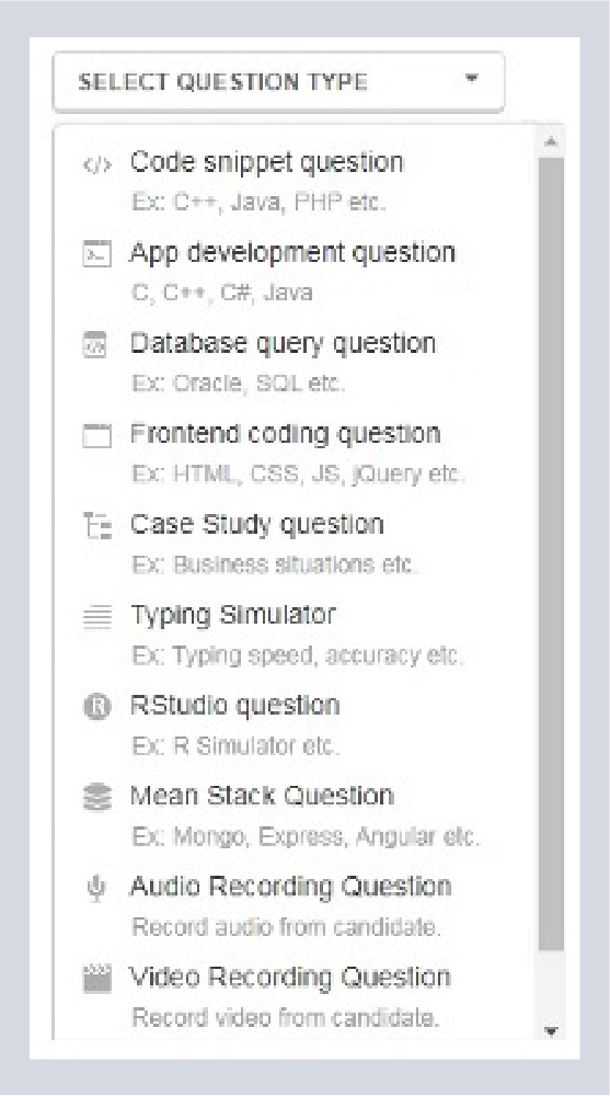 Application-based questions