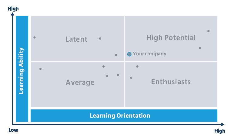 The learning agility matrix